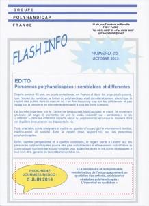 flash info 25