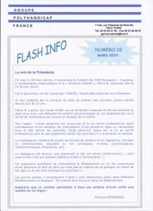 flash info 28