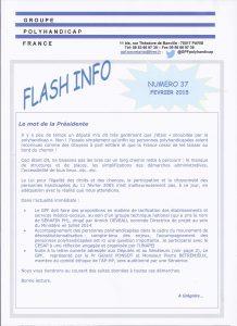 page de garde flash 37